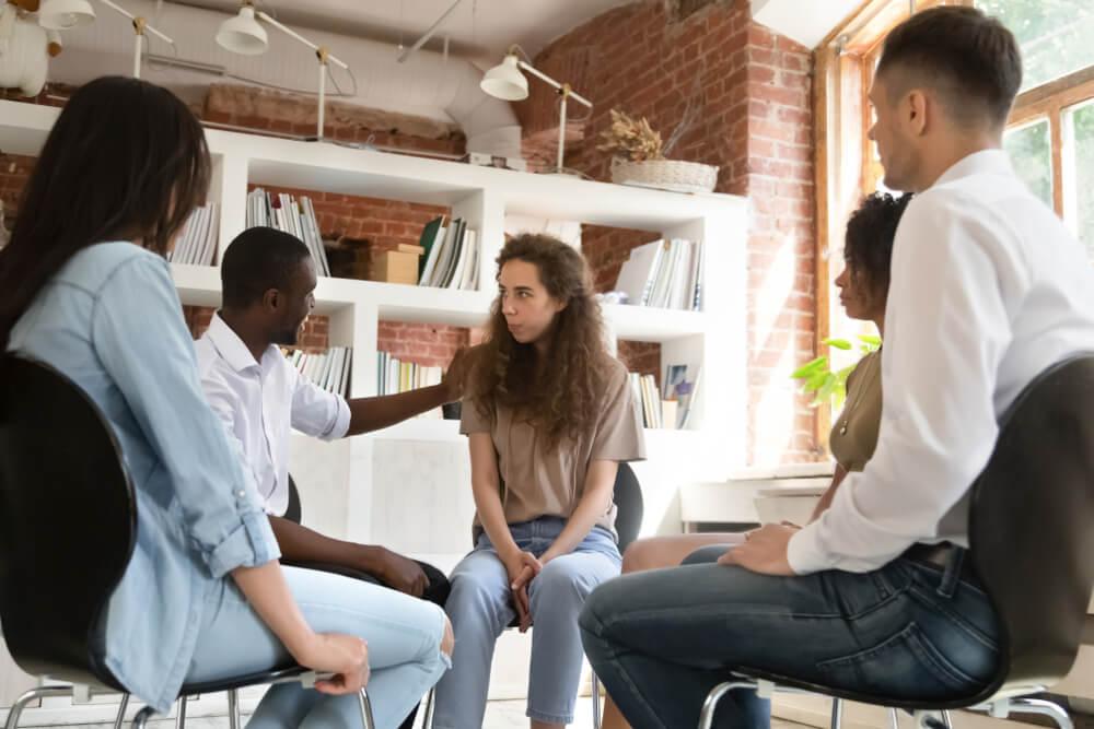 ajuda psicológica em grupo