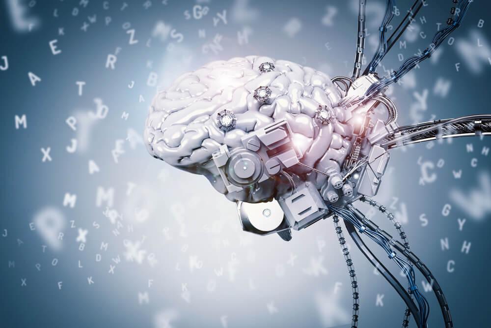 cérebro robótico relacionado a aprendizado