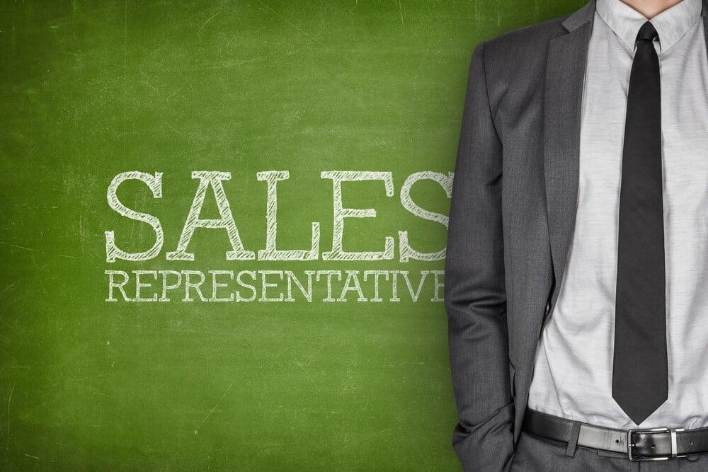 homem de negócios com o título Sales Development