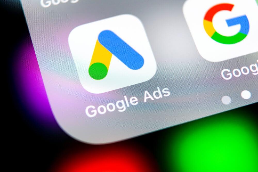 ícone do aplicativo mobile google ads