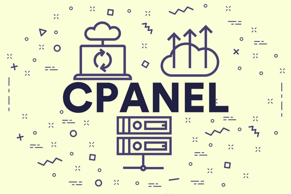ilustração com título da ferramenta CPanel