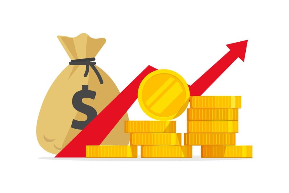 ilustração referente a lucro