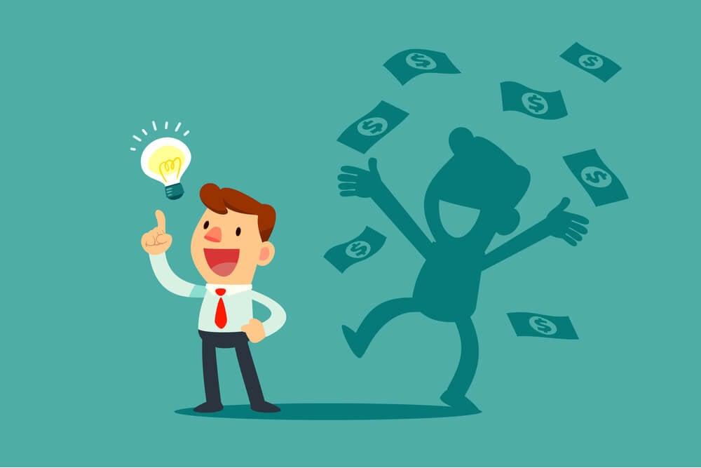 ilustração sobre economia criativa