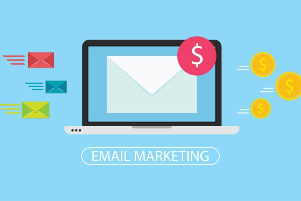 ilustração sobre email marketing
