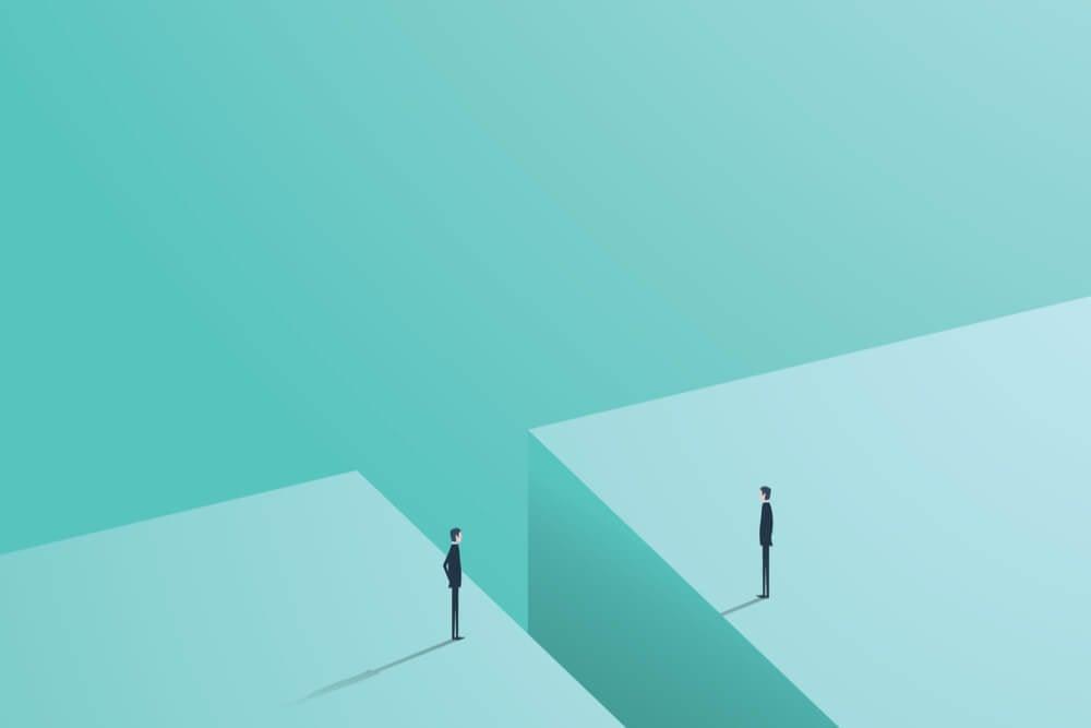 ilustração sobre obstaculos