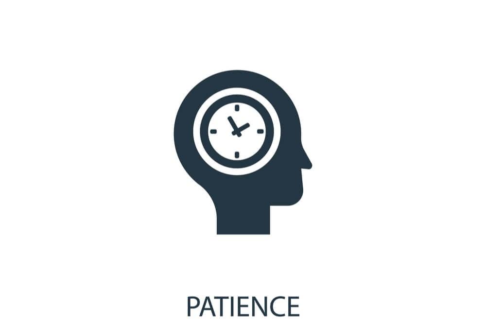 ilustração sobre paciência