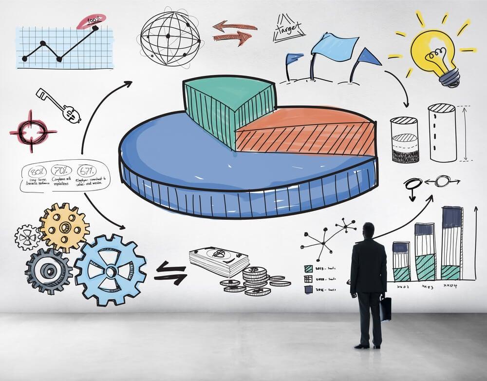 ilustrações comuns ao mundo dos egócios