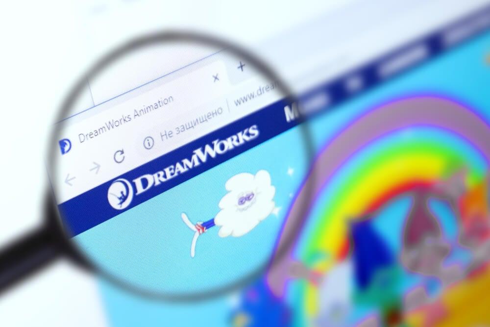lupa em logo na página inicial web da empresa modelo de intraempreendedorismo Dream Works