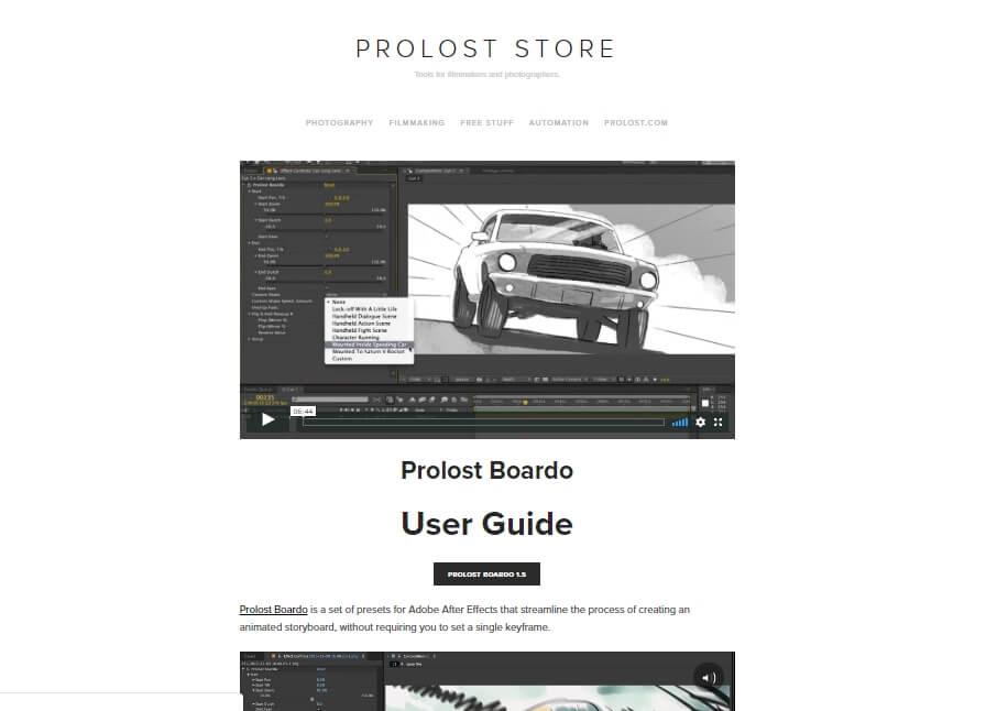 Página para download da ferramenta de criação Boardo