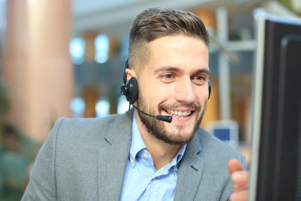 profission al na área de contato a cliente