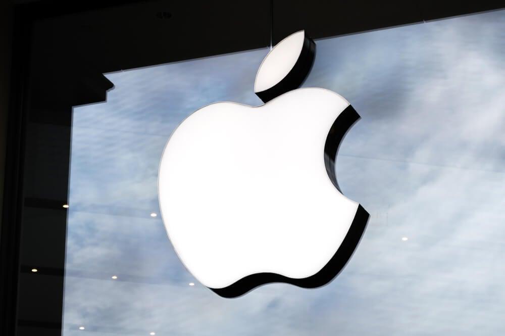 fachada de loja física da Apple