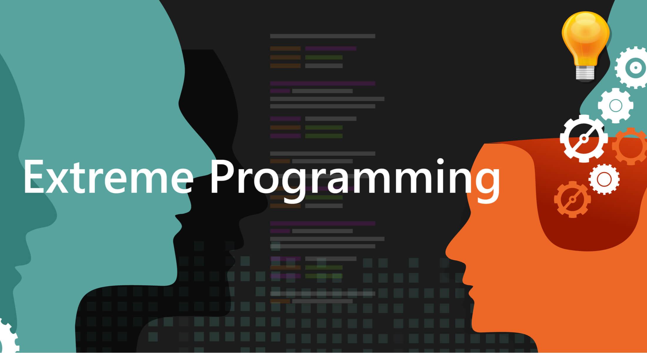 ilustração com título de metodologia ágil Extreme Programming