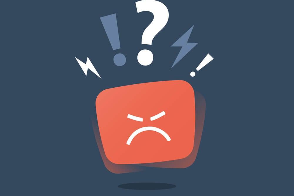 ilustração de emoção raivosa