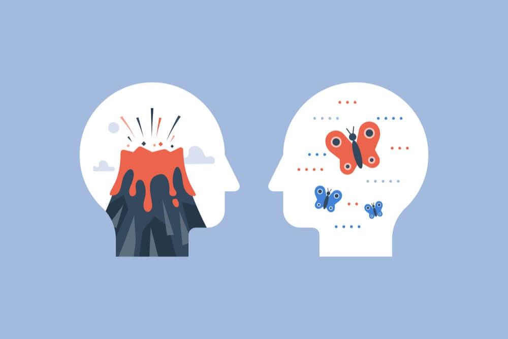 ilustração sobre gatilhos mentais