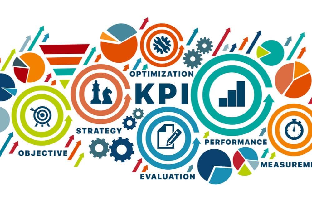 ilustração sobre KPI e métricas de performance