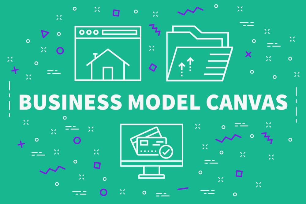 ilustração sobre o modelo de negócio Canvas