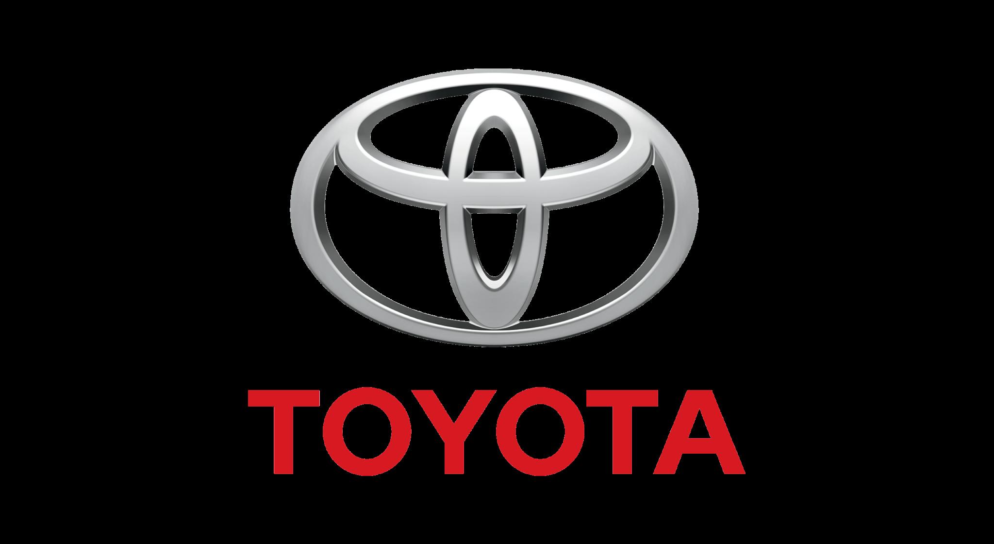 logotipo da empresa automobilística Toyota