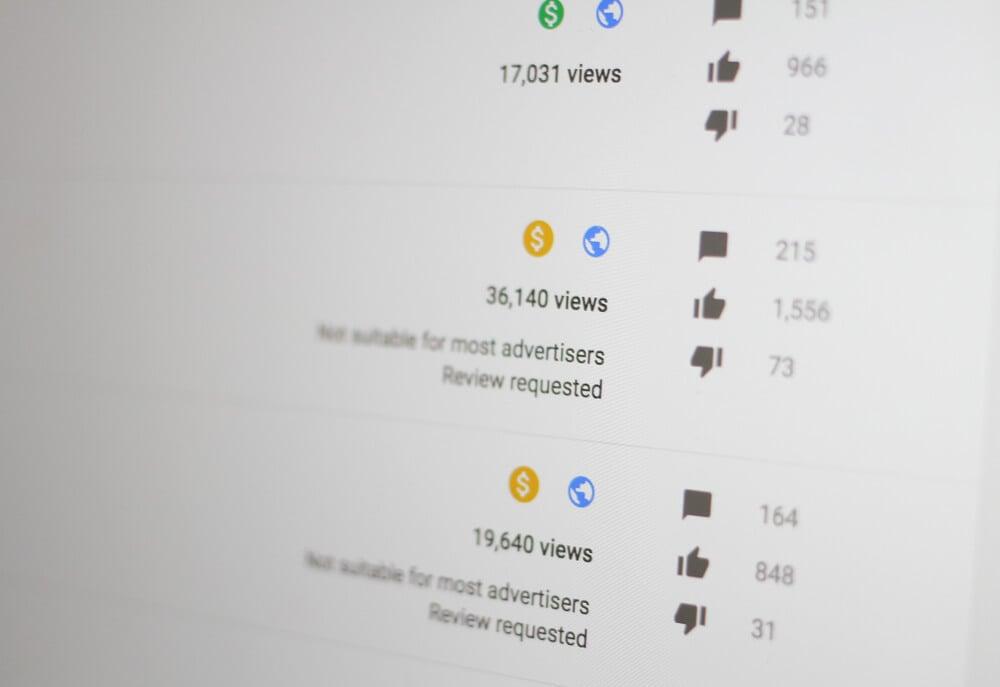 monetização youtube e paga por visualização