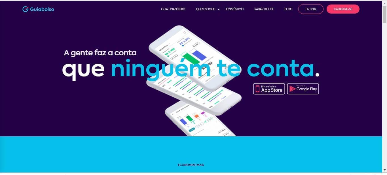 página web do site da empresa guia bolso