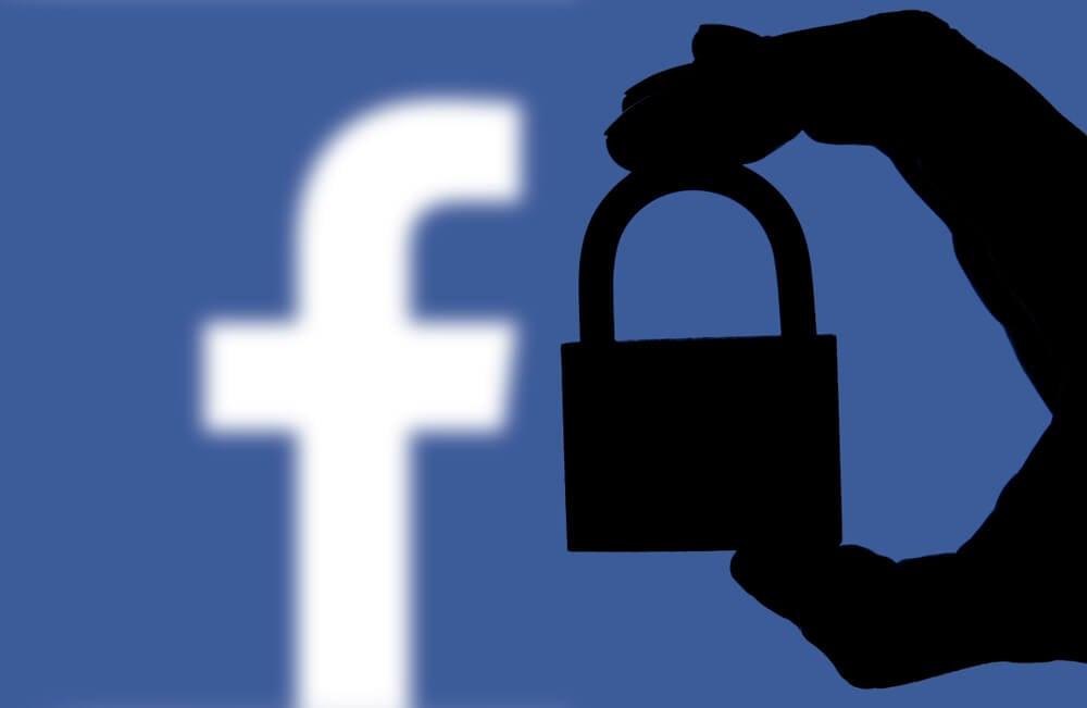 segurança no aplicativo facebook