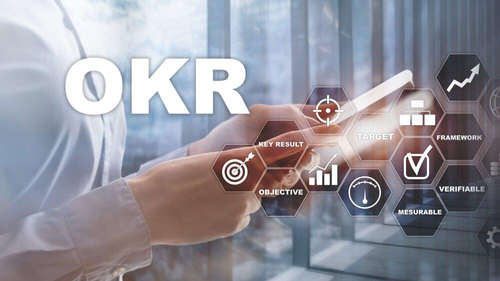 sigla OKR e simbolos relacionados