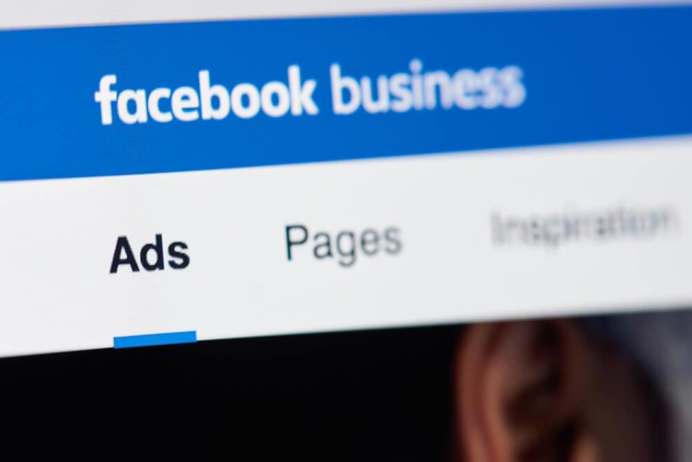 tela de anúncios da ferramenta facebook ads