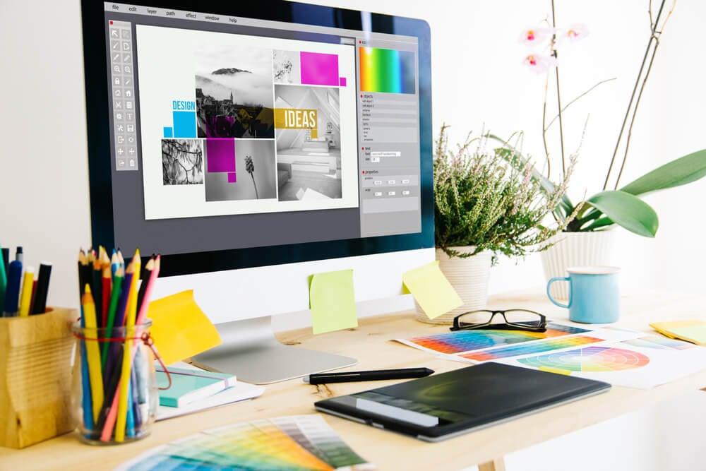 design gráfico como opção de renda extra
