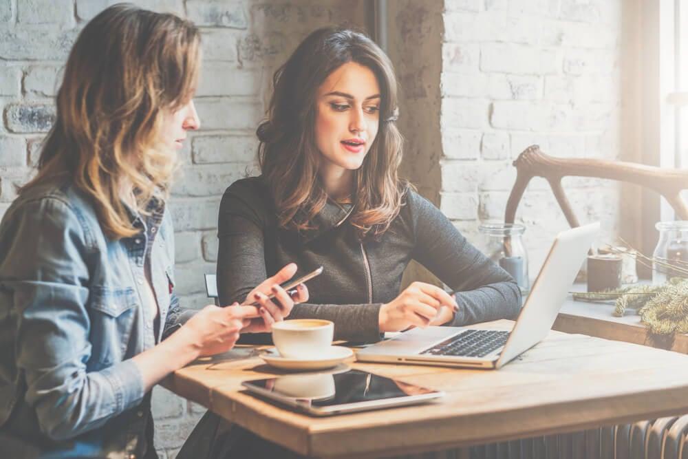 dupla de profissionais de marketing para instagram para empresas