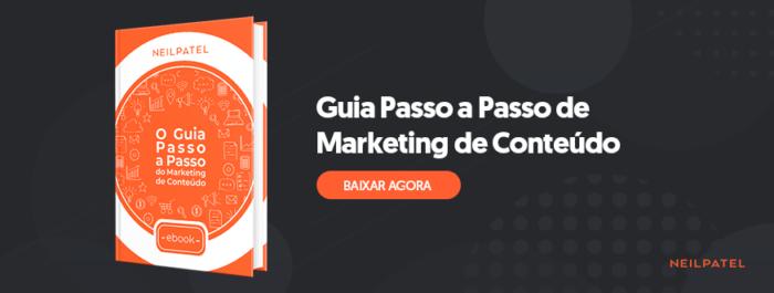 guia passo a passo de marketing de conteúdo