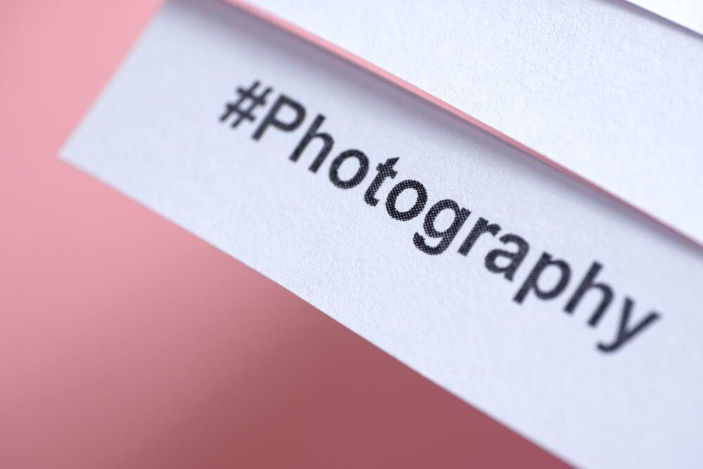 hashtag para contas no instagram de fotografia