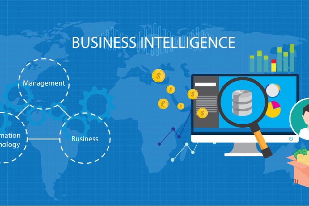 ilustração sobre Business Intelligence