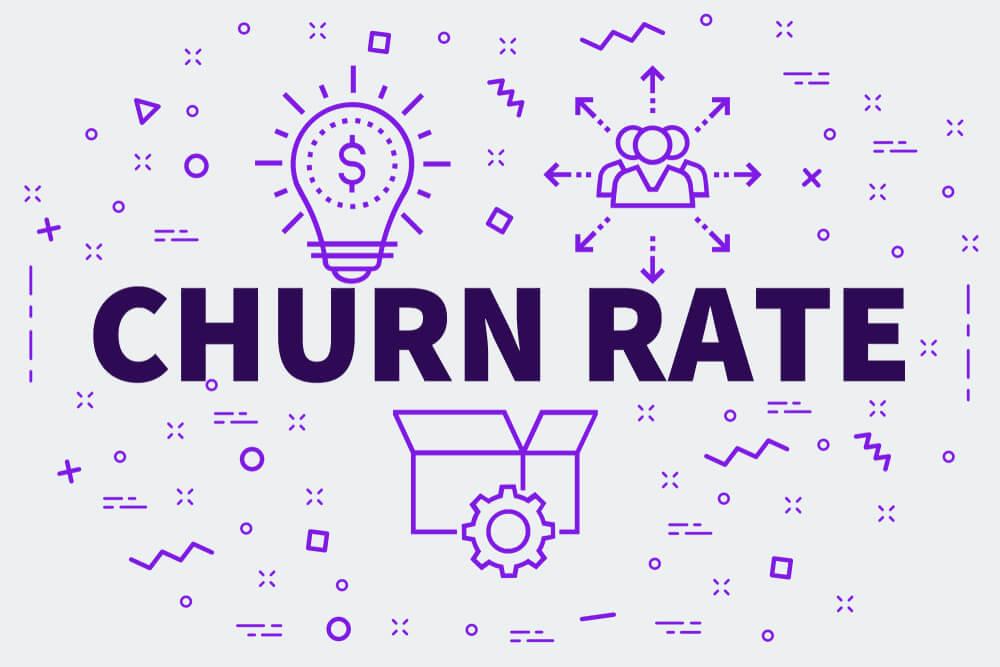 ilustração sobre churn rate