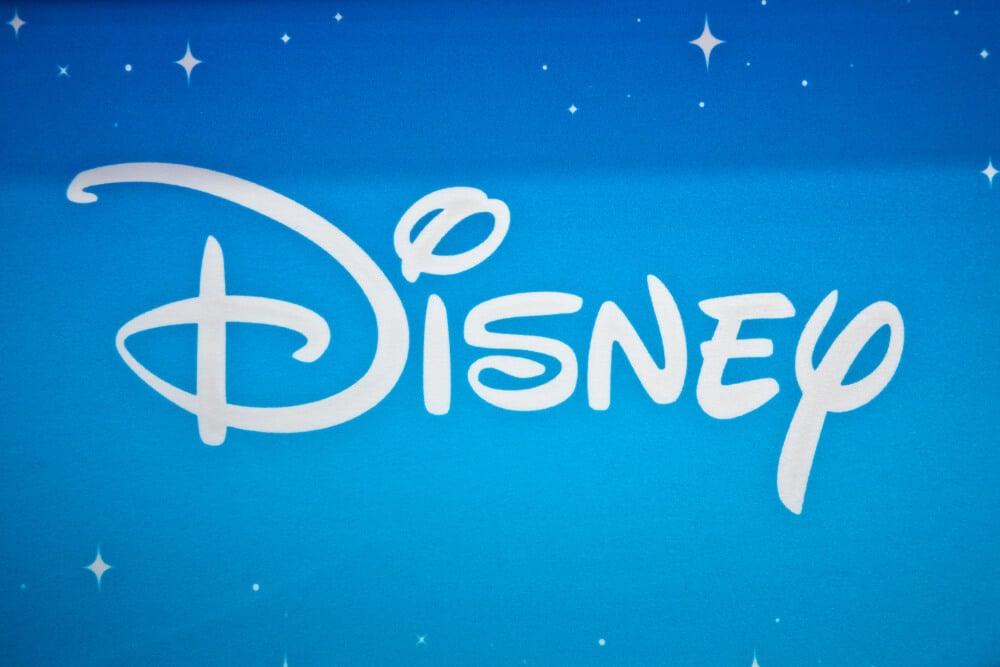 logo da empresa Disney como exemplo de wordmark