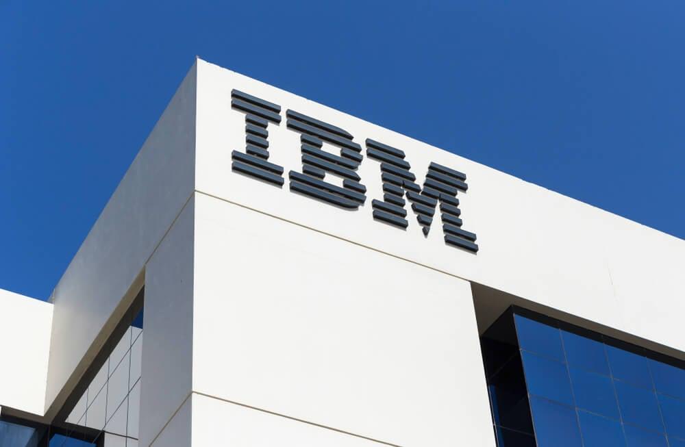 logo da IBM como exemplo de lettermark