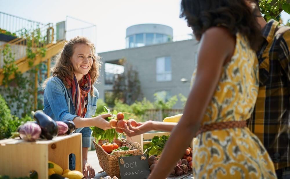 mercado saudável como exemplo de tendências de mercado
