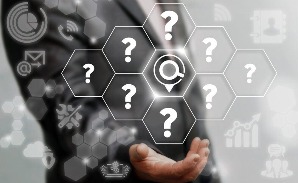 questões acerca de objetivos no estudo de mercaod