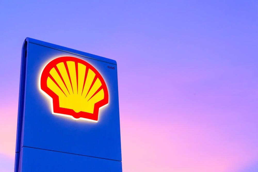 símbolo da empresa shell como exemplo de tipo de logo
