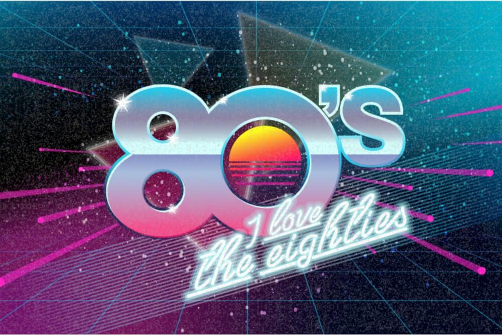 design caracteristico dos anos 80