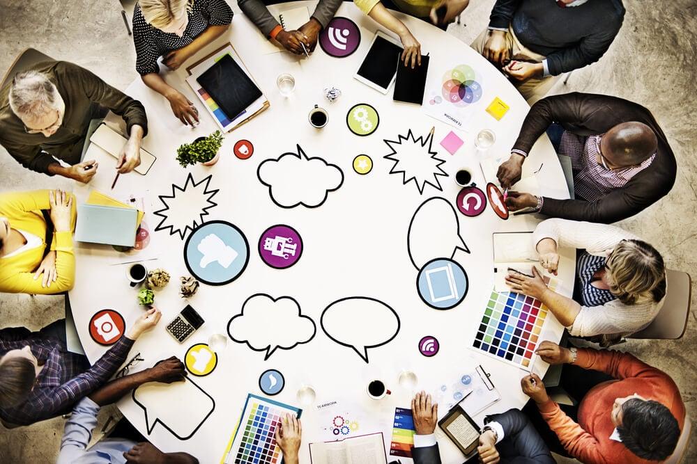 equipe e planejamento de marketing de conteudo