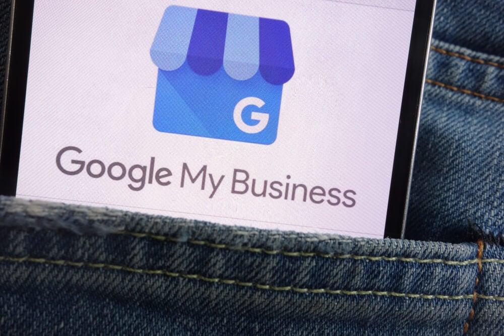 Ferramenta google meu negócio como exemplo de ferramenta para marketing de seguros