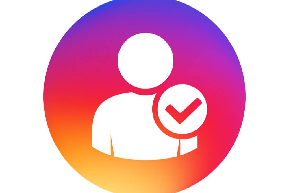 ilustraçao demonstrando conta verificada no aplicativo instagram