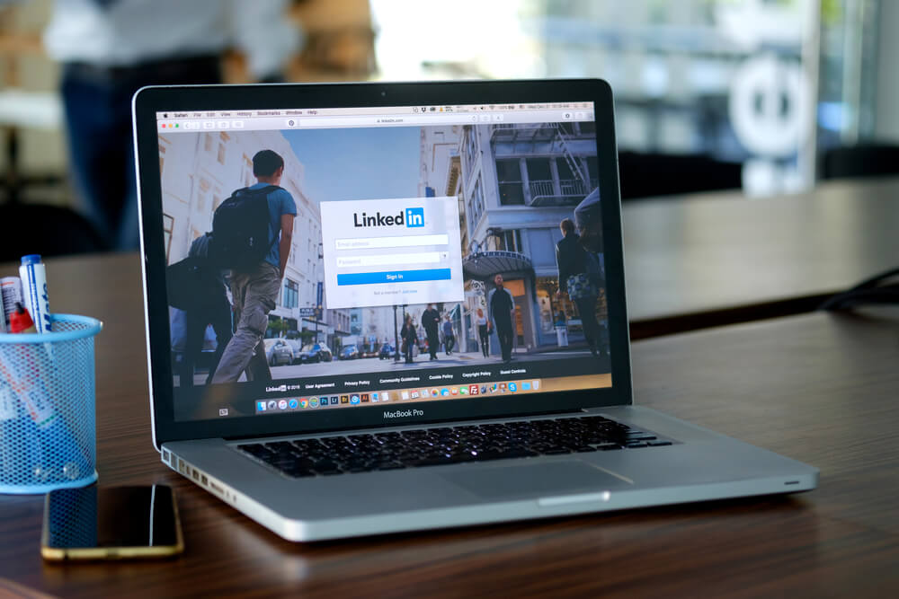 linkedin como exemplo de ferramenta auxiliar do key account