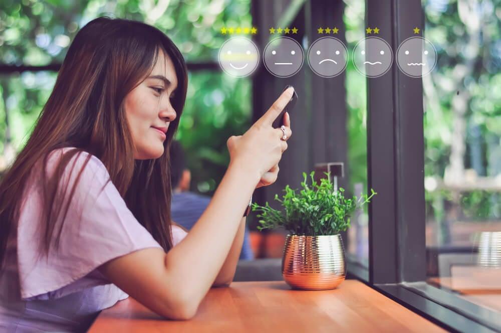 processo de feedback mobile no marketing de experiência
