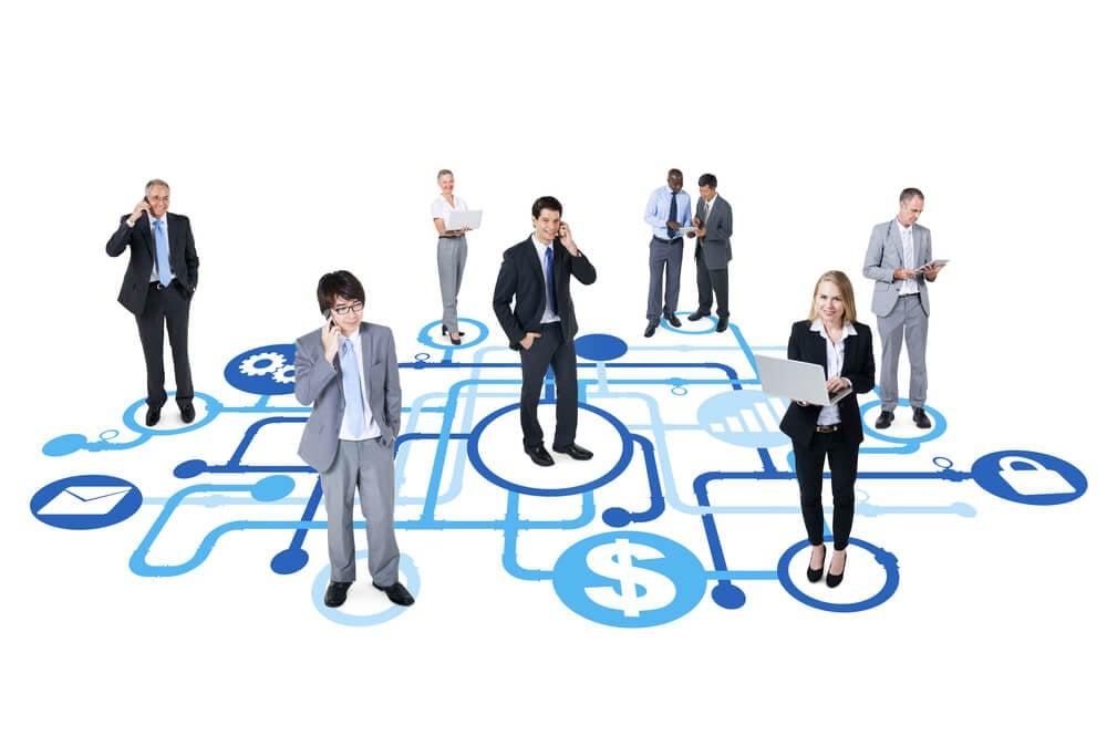profissionais representando pipeline de liderança