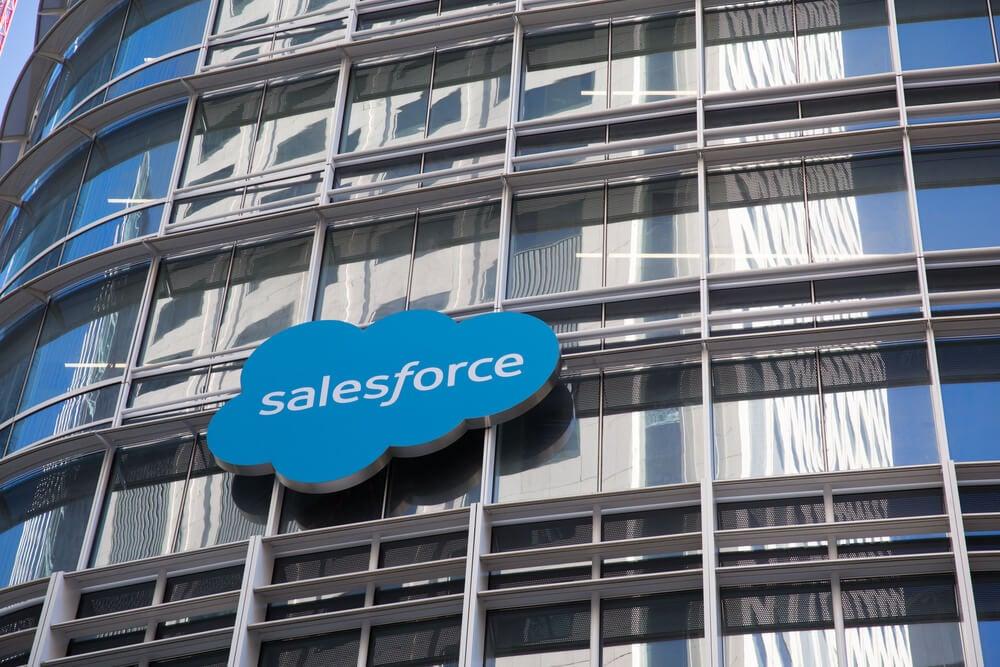 SalesForce como exemplo de empresa de marekting B2B