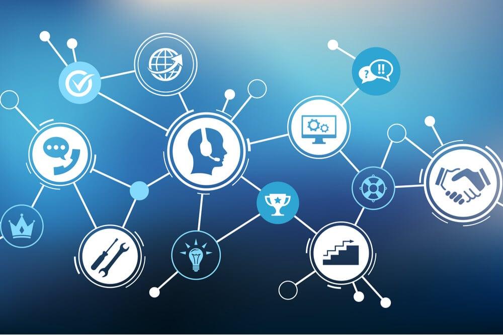símbolos e ícones relacionados ao telemarketing
