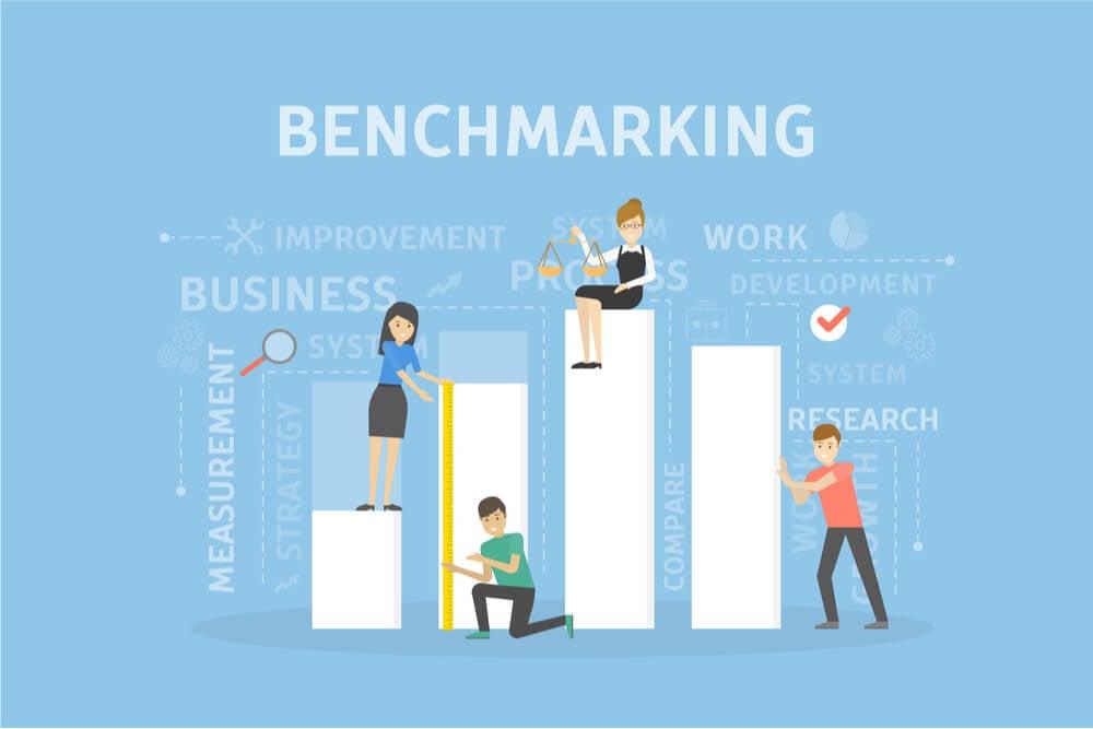 benchmarking como exemplo de como definir seu canal de distribuição