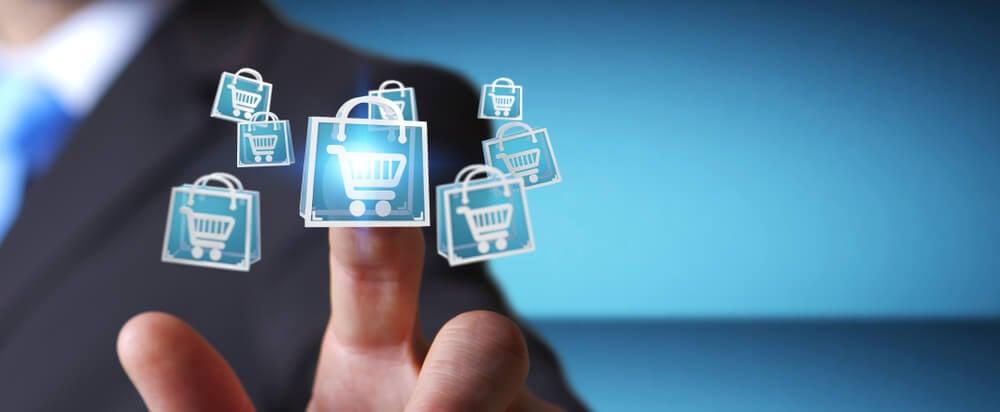 canais de aquisição e loja online