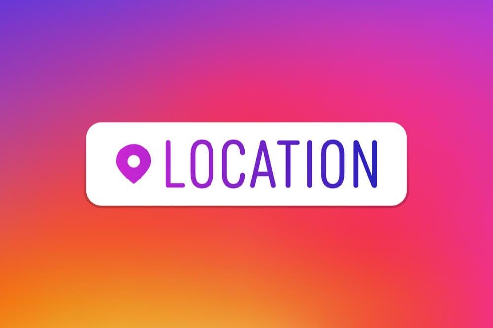 como criar localização para o instagram