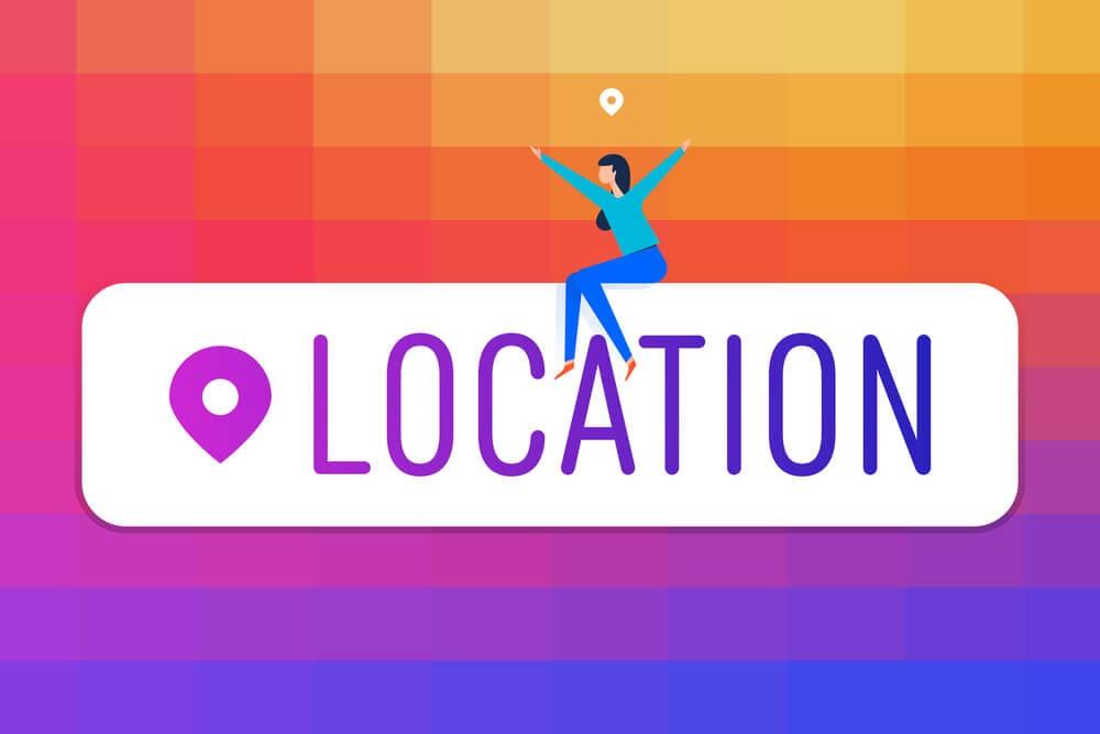 como usar o recurso de localização no instagram